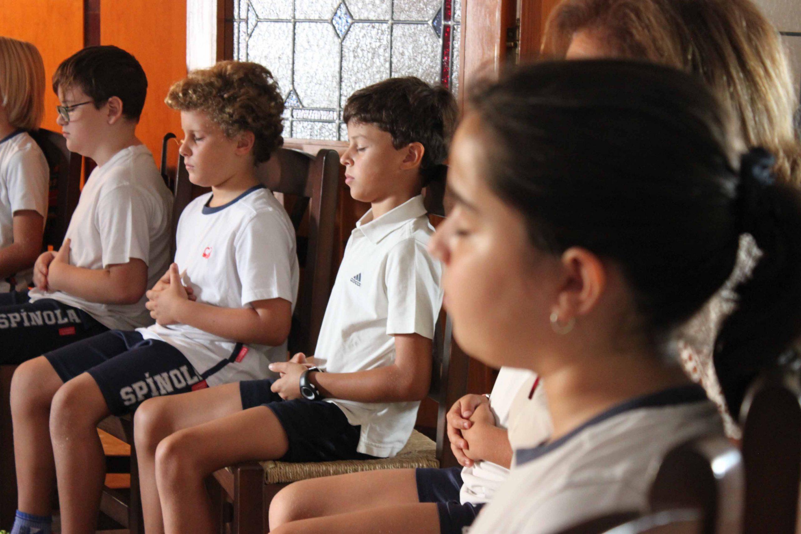 interioridad y mindfulness en el colegio Cardenal Spínola de Sanlúcar