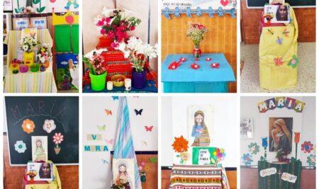 Mayo: mes de las flores, mes de María